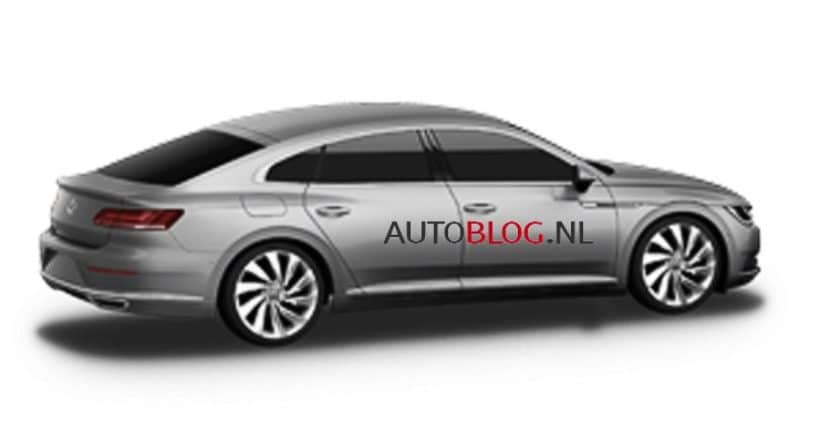 Volkswagen CC 2017 lateral