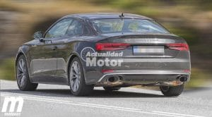Audi RS5 2017 foto espía