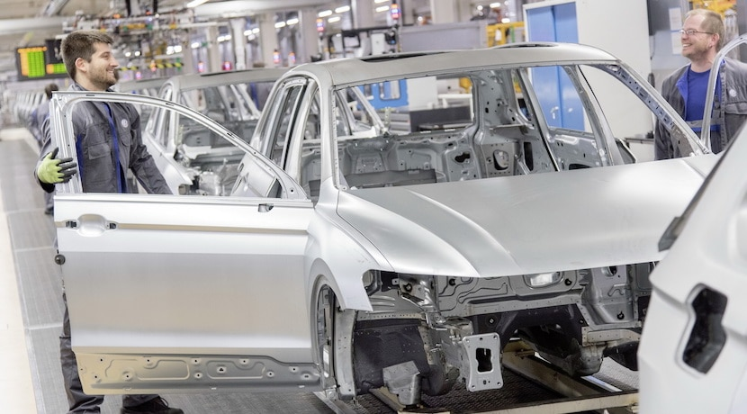 Volkswagen Golf fábrica Wolfsburgo