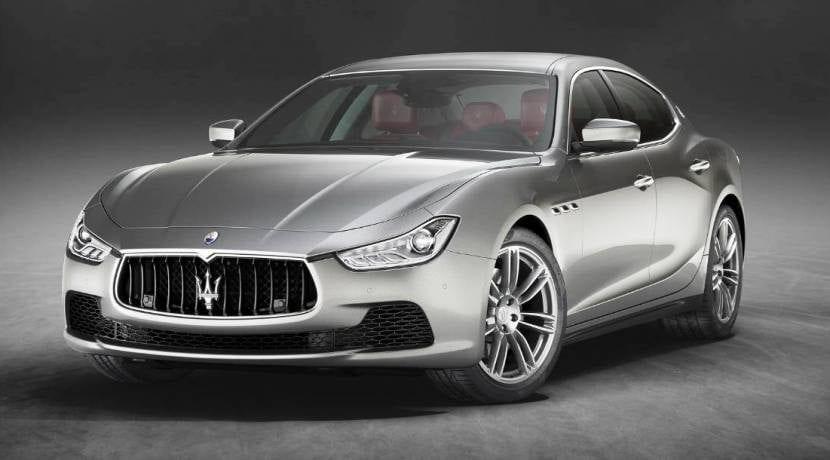 Maserati Ghibli frontal