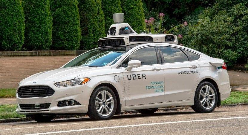 Uber Ford autónomo
