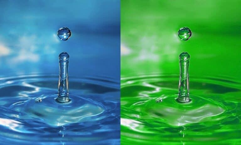 Mezclar agua y anticongelante