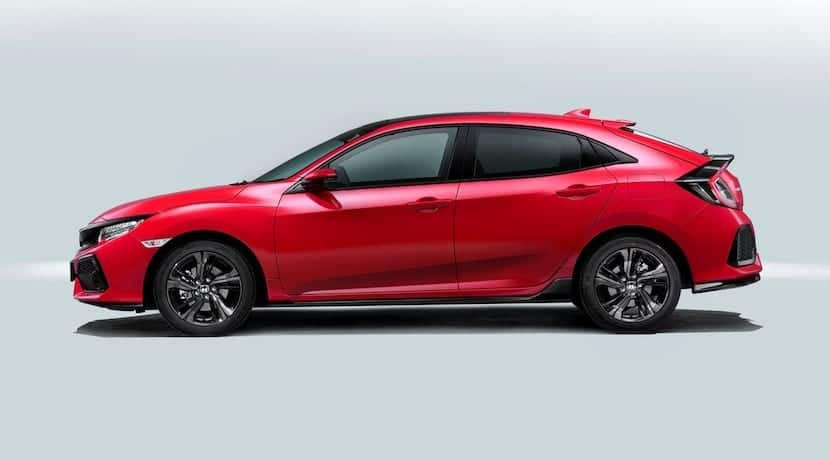 Honda Civic 2017 Europa