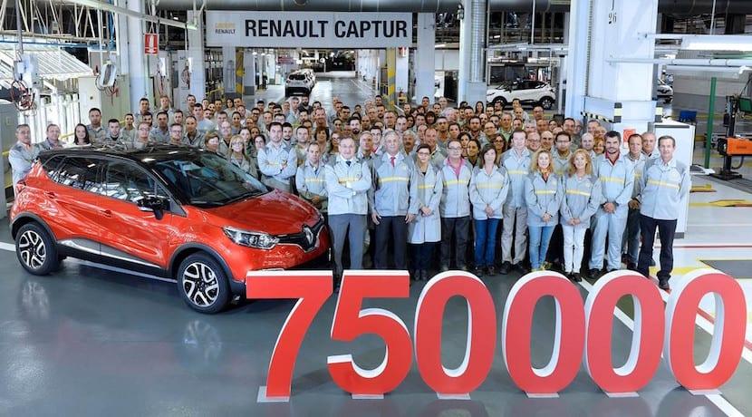 Renault Captur 750.000 unidades Valladolid