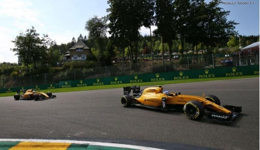 Renault F1 2016 Monza