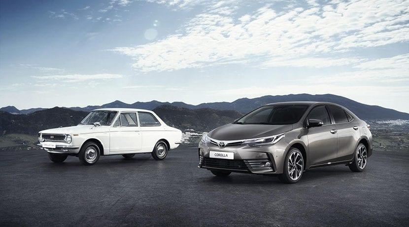 Toyota Corolla de primera y última generación