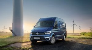 Volkswagen e-Crafter Concept