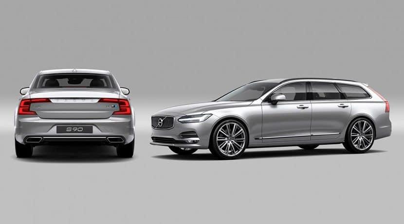 Volvo S90 y Volvo V90 Polestar