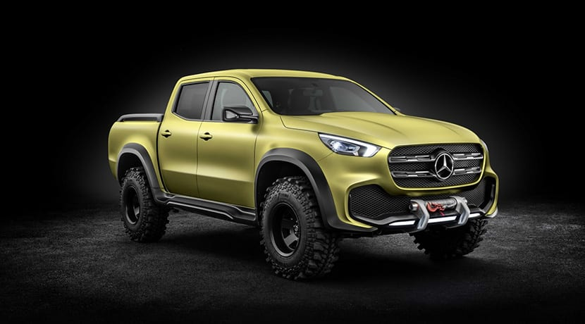 Mercedes Clase X Concept Powerful Adventurer