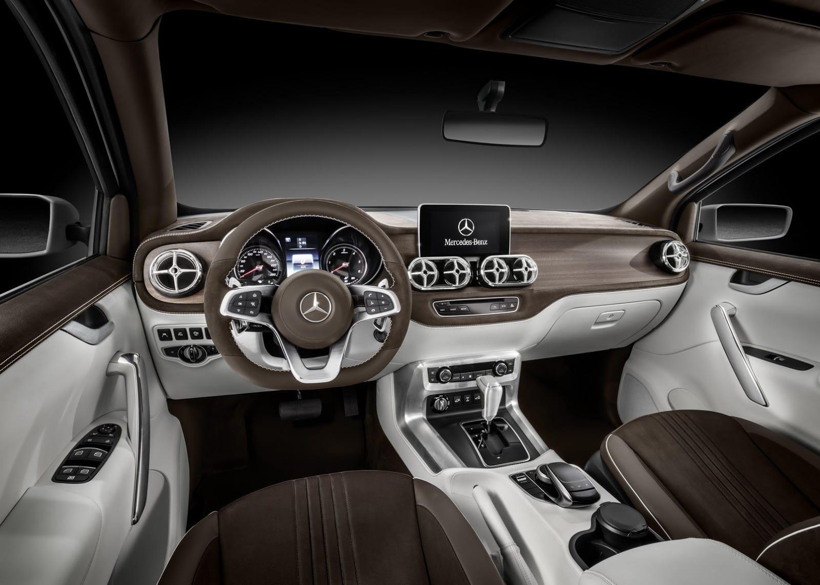 Mercedes Clase X Concept Stylish Explorer