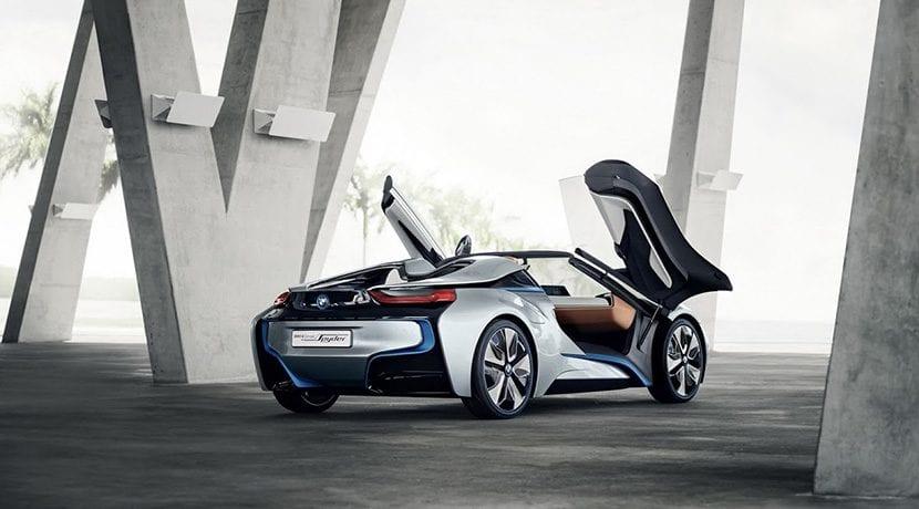 prototipo BMW i8 spyder