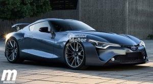 Toyota Supra 2018 render