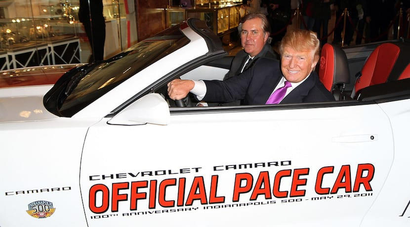 Coches Donald Trump Chevrolet Camaro Pace Car