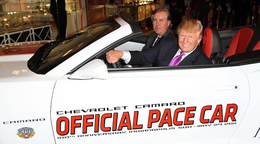 Coches Donald Trump Chevrolet Camaro Pace Car