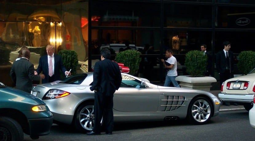 Coches Donald Trump SLR McLaren