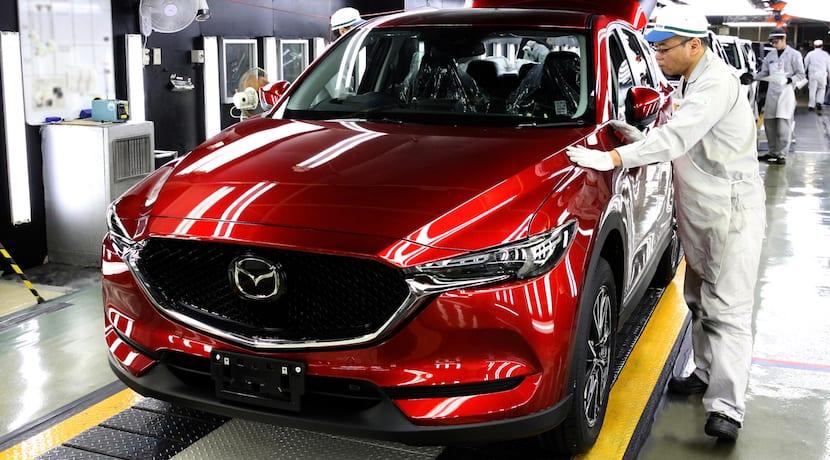 Mazda CX-5 producción