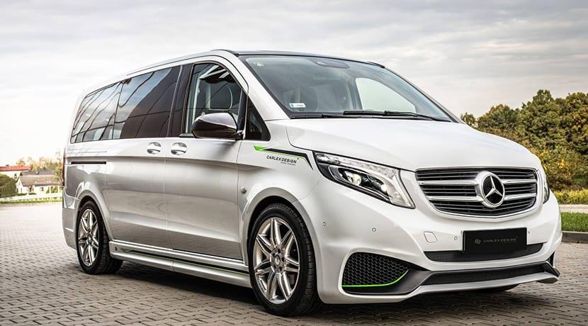 Mercedes Clase V por Carlex Design
