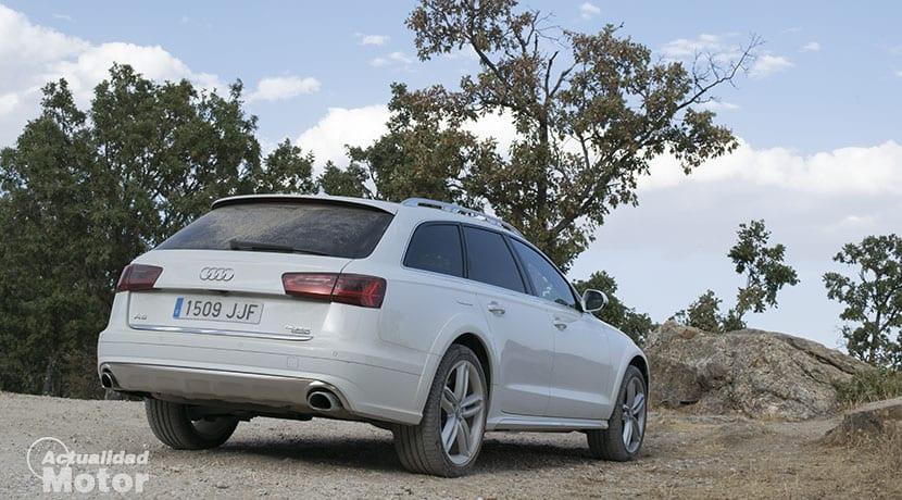 Prueba Audi A6 allroad quattro