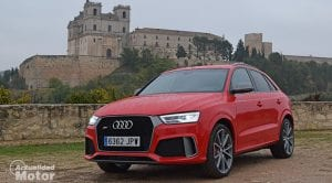Prueba Audi RS Q3 performance