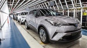 Toyota C-HR producción Turquia