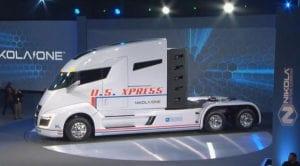 Nikola Motors camión EV