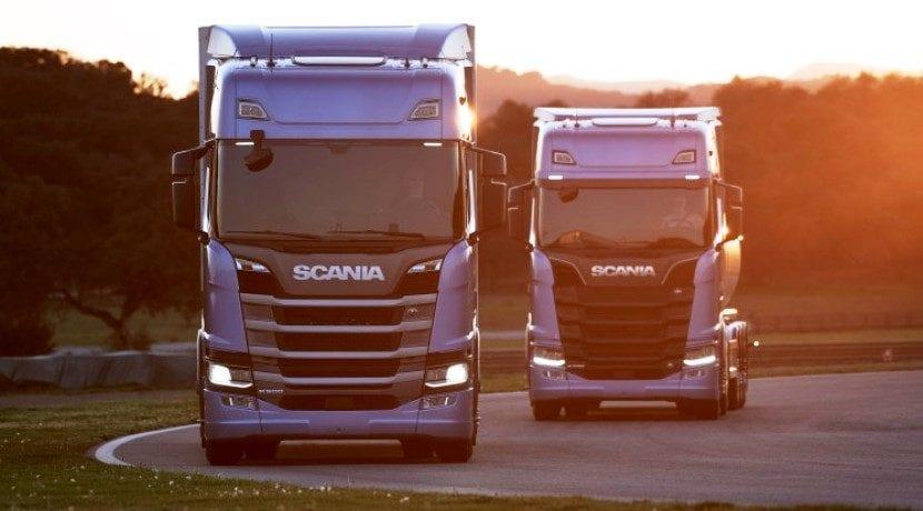 V2V camiones