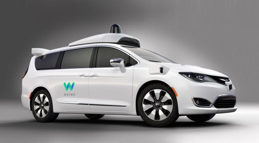 FCA Waymo (Google) Chrysler Pacifiica