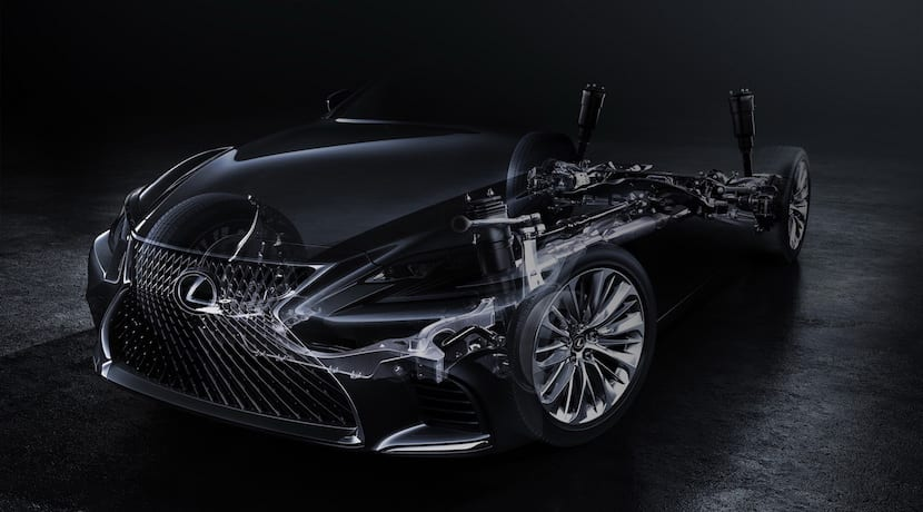 Lexus LS teaser