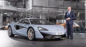 McLaren 10.000 unidades