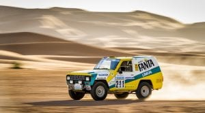 Nissan Patrol Fanta Limón Dakar 1987