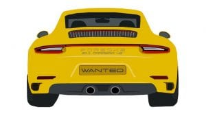 Porsche 911 Carrera 4S robados