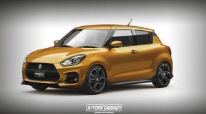Suzuki Swift Sport render