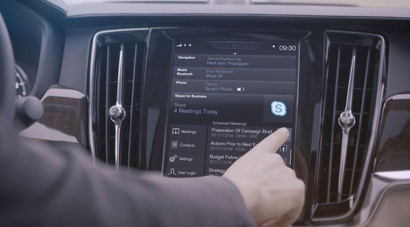 Volvo Skype