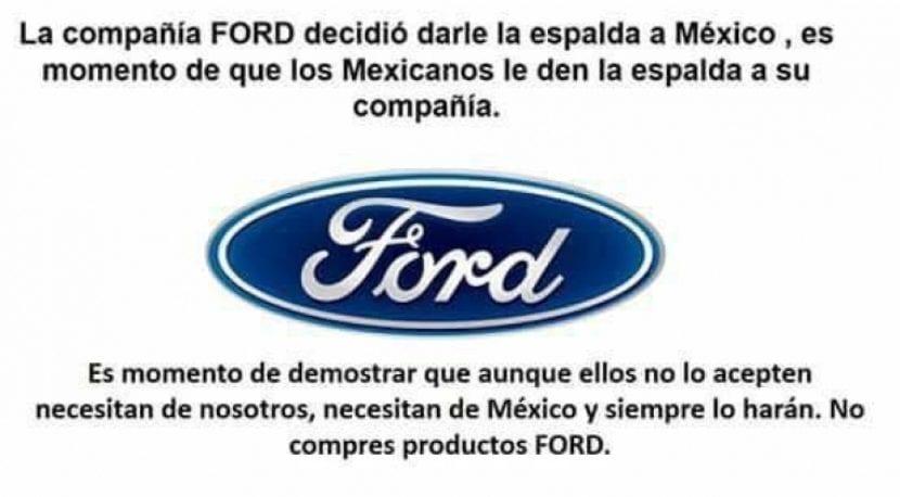 Boicot a Ford