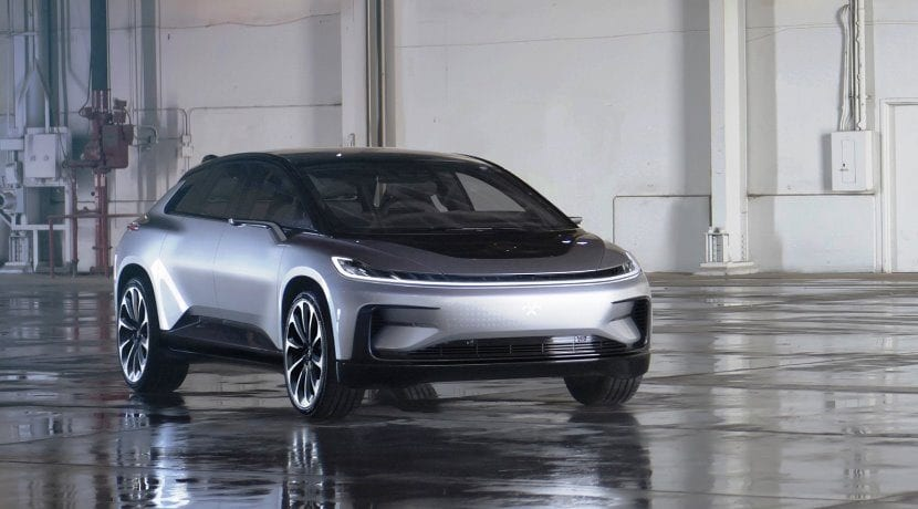 Faraday Future FF91 frontal