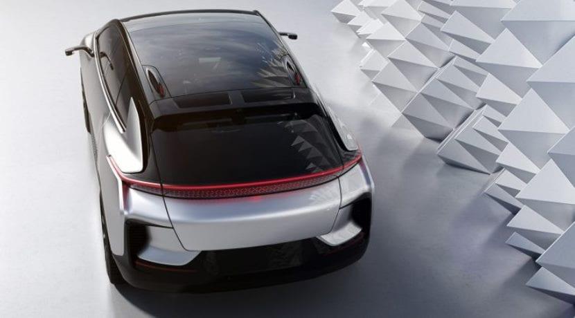 Faraday Future FF91 trasera