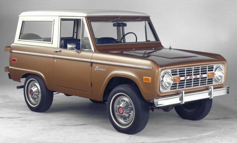 Ford Bronco Origin