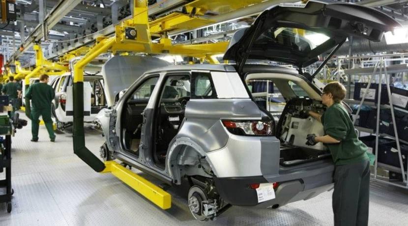 Land Rover Reino Unido fábrica
