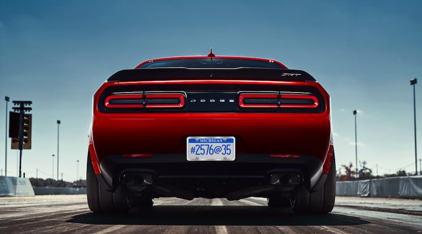 Dodge Challenger SRT Demon teaser