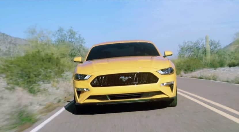 Ford Mustang 2018 filtrado
