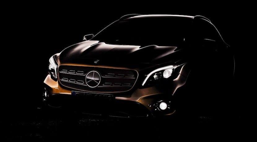 Mercedes GLA lavado de cara
