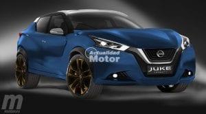 Nissan Juke render