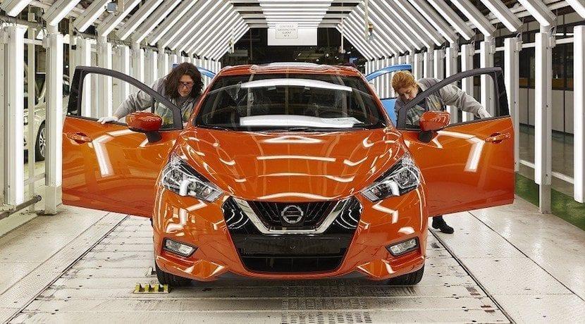 Nissan Micra producción