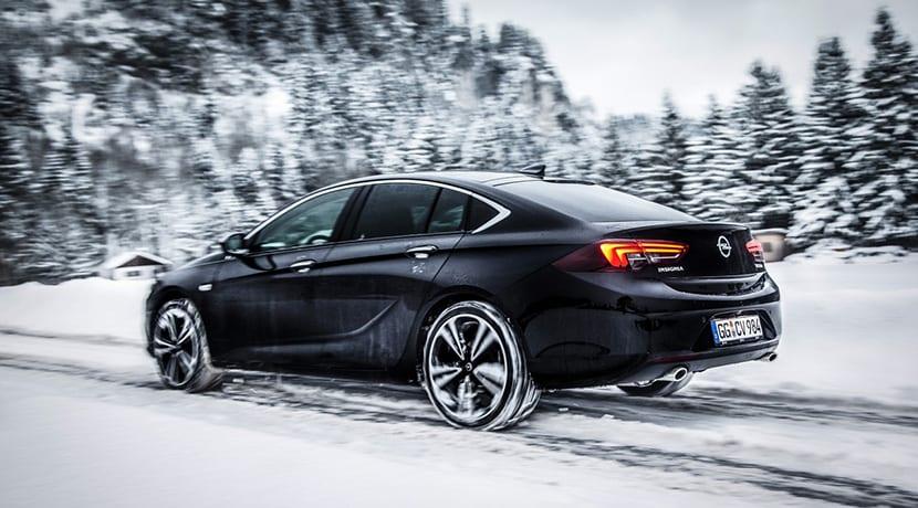 Opel Insignia Grand Sport con sistema de tracción Twinster