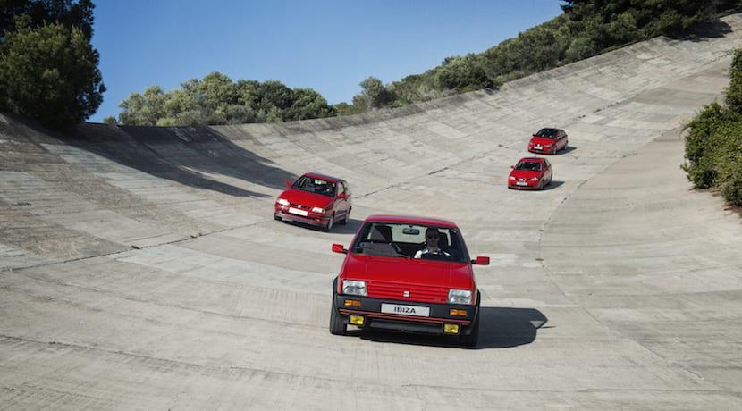 SEAT Ibiza generaciones