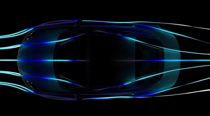 Teaser de la aerodinámica del nuevo Alpine