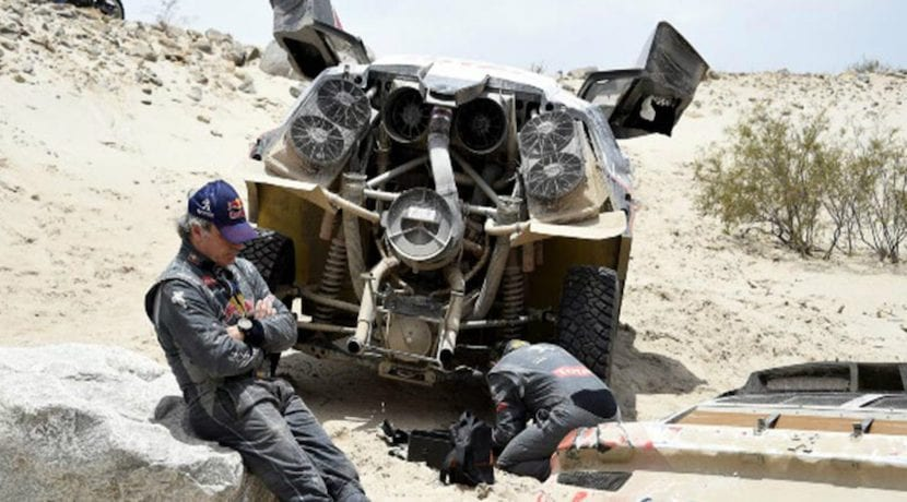 accidente Carlos Sainz Dakar