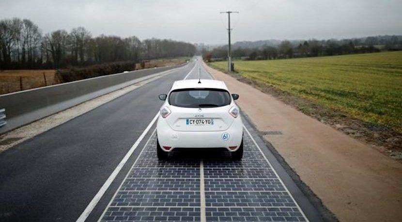 Francia Carretera Solar