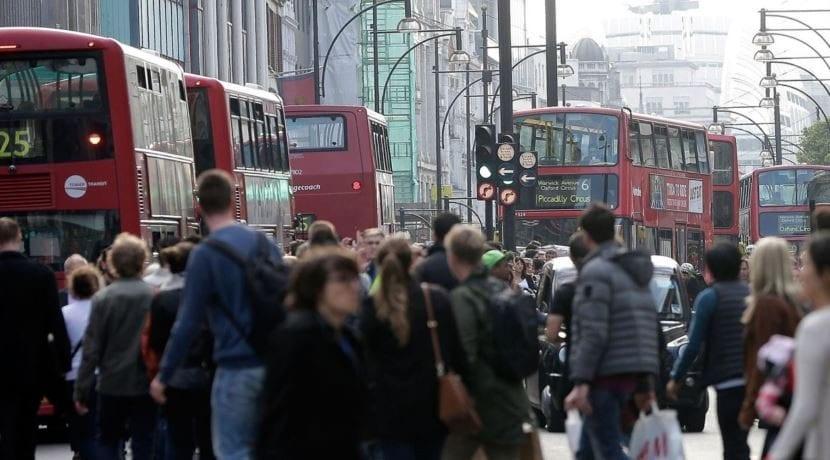 Contaminación Londres