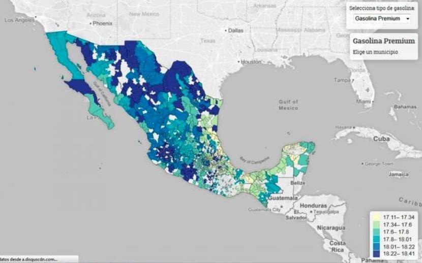 México regulación gasolina